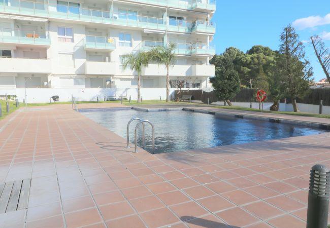 Apartamento en Rosas / Roses - AQUAMARINA 011 - Appartement résidence avec piscin