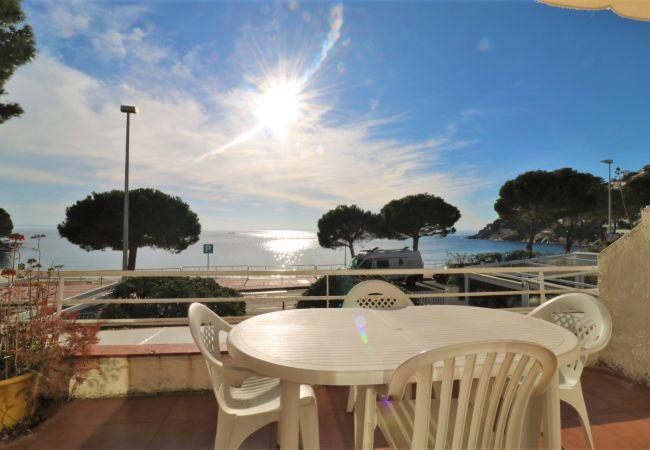 Apartamento en Rosas / Roses - BERGANTI, 1ª línea de mar, magnificas vistas