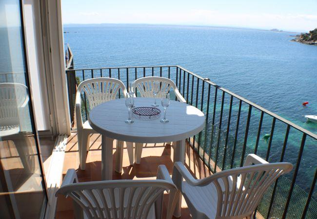 Appartement à Rosas / Roses - MIRAFLOR - Piso Primera linea de mar, al lado Play