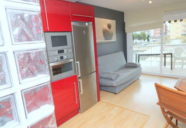 Appartement à Rosas / Roses - INTERIMMO NANCY - Apartamento Rosas vista canal