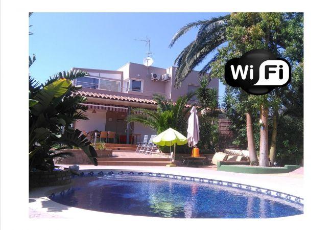 Villa à Rosas / Roses - INTERIMMO PALM BEACH FREE WIFI- Villa Rosas
