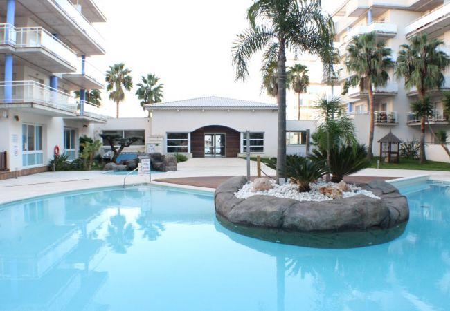 Appartement à Rosas / Roses - P. CANIGO I 119 - Residence avec piscine- Wifi