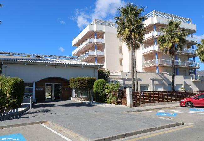 Appartement à Rosas / Roses - P. CANIGO II 101 Résidence avec piscine et WIFI