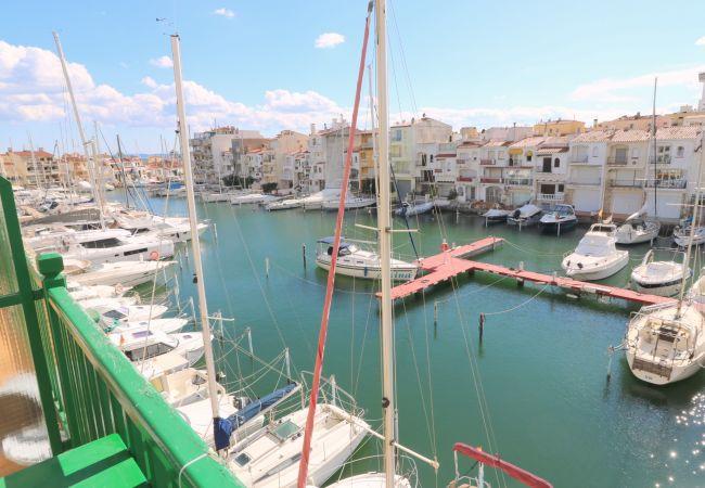 Appartement à Empuriabrava - Port Ducal proche mer  Apt  vue canal
