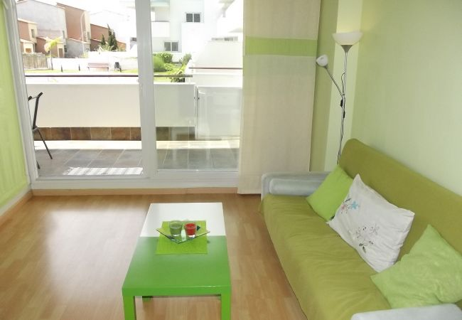 Apartment in Rosas / Roses - AQUAMARINA 011 - Appartement résidence avec piscin