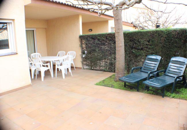 House in Rosas / Roses - P. ESTRELLA 24 Casa con piscina comunitaria y WIFI