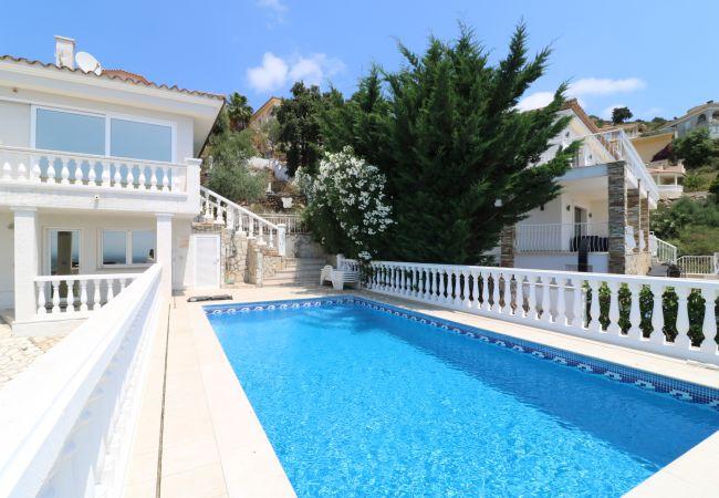 House in Palau-Saverdera - Belgica 182 Casa con piscina privada