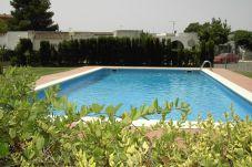 Ferienwohnung in Rosas / Roses - SANT JOSEP 81 -Piso con piscina Roses