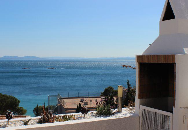 Ferienwohnung in Rosas / Roses - Sta Barbara, Piso vista mar, muy cerca playa